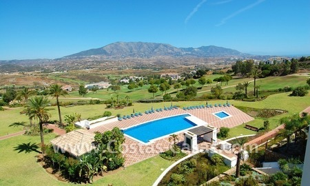 Penthouse appartement te koop in Golfresort te Mijas, Costa del Sol 0