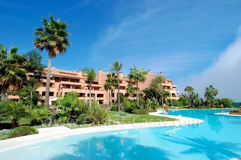 Luxe strand appartement te koop in malibu marbella - Domotica marbella ...