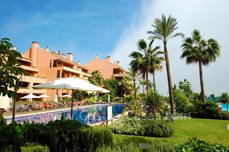 Luxe strand penthouse te koop malibu puerto banus marbella - Domotica marbella ...
