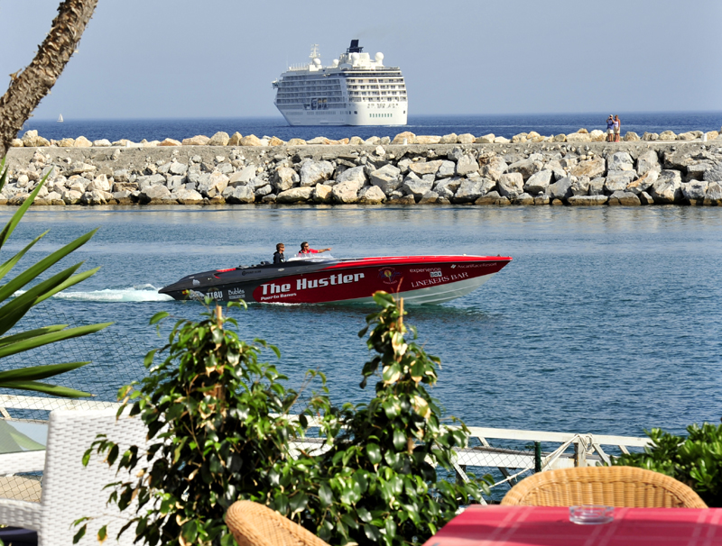 Cruise ship the world in Marbella