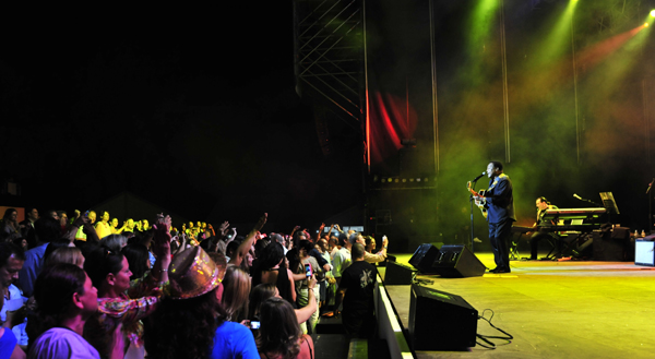 George Benson concert in Marbella 2012 by Costas & Casas