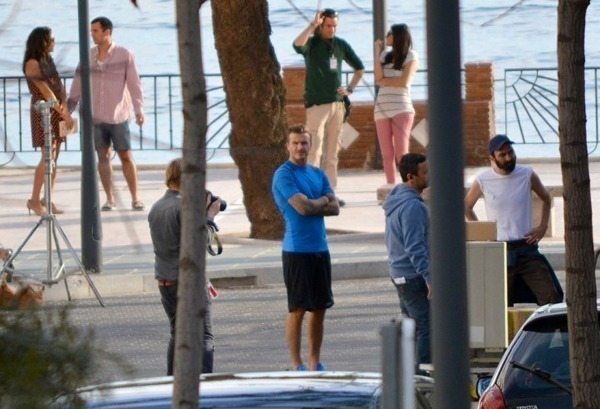 David Beckham in Marbella
