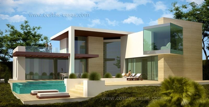 Modern villa for sale in Marbella exclusive by Costas & Casas
