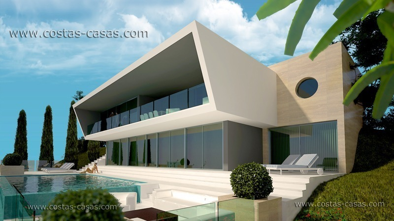 Contemporary villa for sale in Marbella exclusively with Costas & Casas