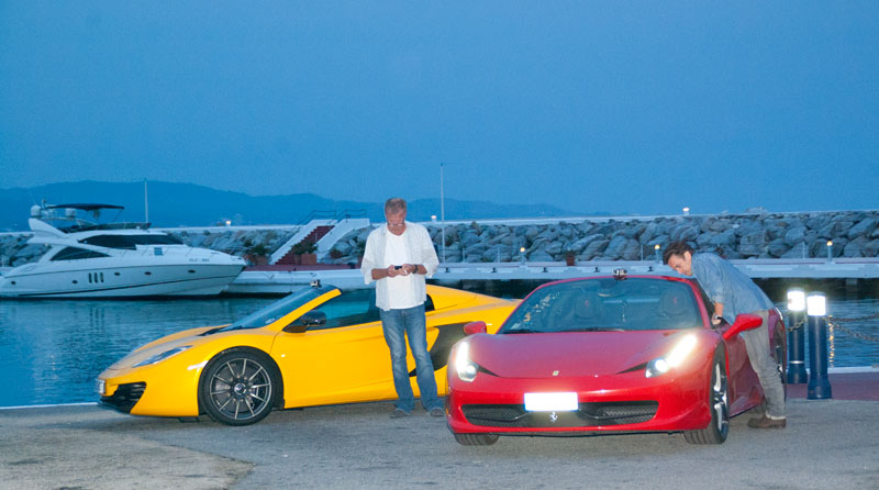 TOP GEAR in Puerto Banus Marbella