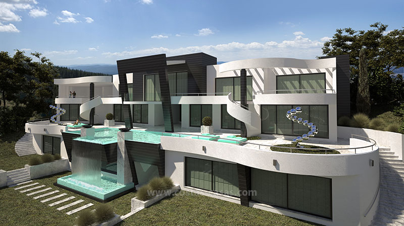 Ultramodern villa for sale in Marbella