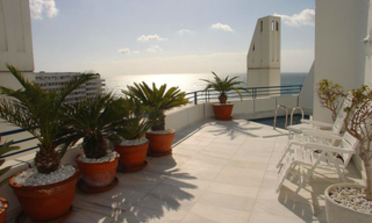 Luxe Penthouse appartement te koop in Marbella centrum 1