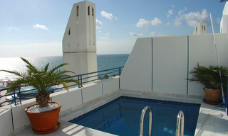 Luxe Penthouse appartement te koop in Marbella centrum 0