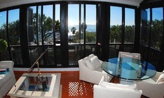 Beachfront penthouse appartement te koop in Elviria, East Marbella 7