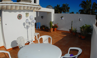 Beachfront penthouse appartement te koop in Elviria, East Marbella 9