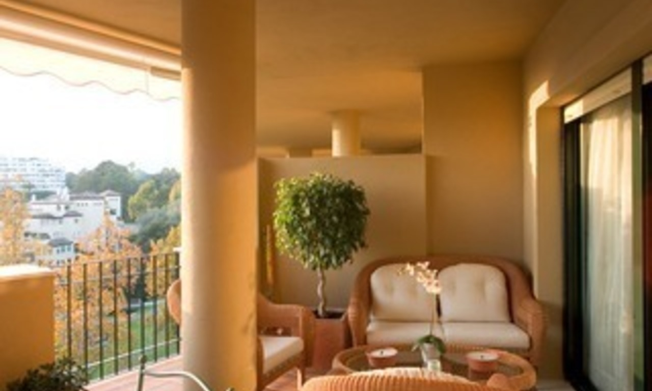 Marbella for sale: frontline golf penthouse te koop in Marbella 4