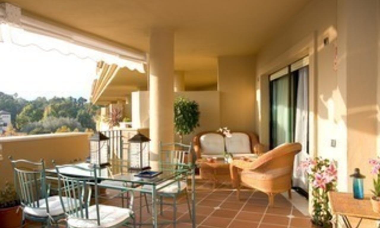 Marbella for sale: frontline golf penthouse te koop in Marbella 5
