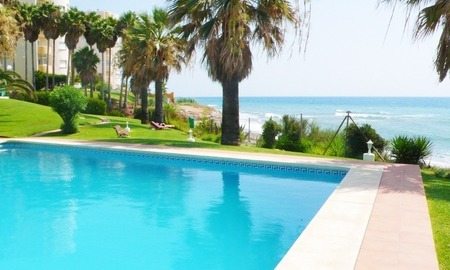 Frontline beach strand appartement te koop in Mijas Costa 3