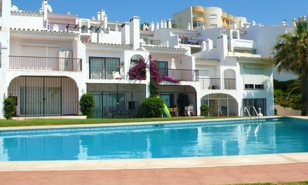 Frontline beach strand appartement te koop in Mijas Costa 4