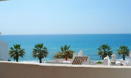 Frontline beach strand appartement te koop in Mijas Costa 0