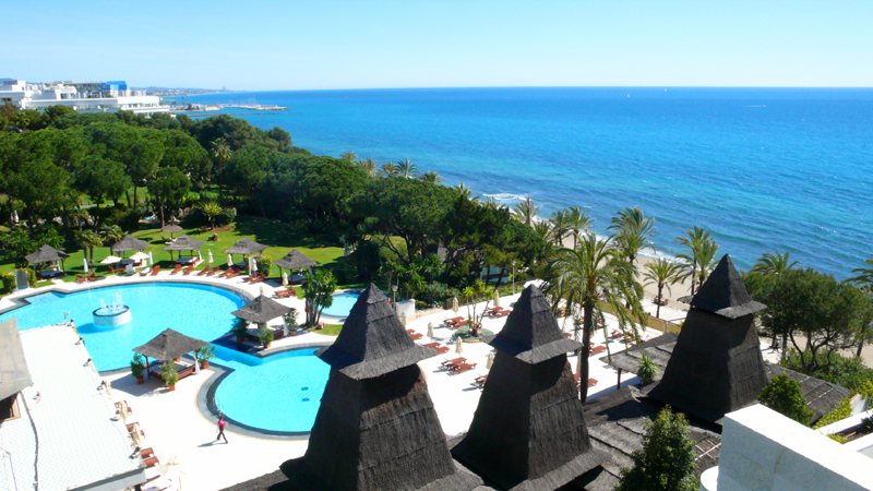 Koopje! Luxe penthouse appartement te koop, beachfront Golden Mile - Marbella centrum