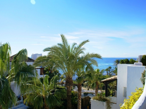 Penthouse appartement te koop in Marina Puente Romano - Golden Mile -Marbella 0