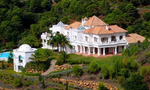 Grand Villa property for sale / te koop, La Zagaleta, Marbella - Benahavis