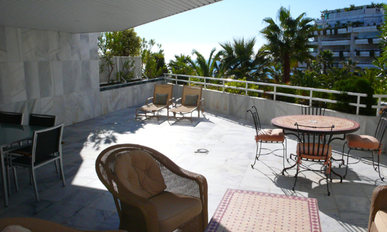 Beachfront appartement te koop, Golden Mile, Marbella 6