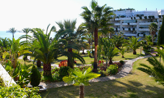 Beachfront appartement te koop, Golden Mile, Marbella 0
