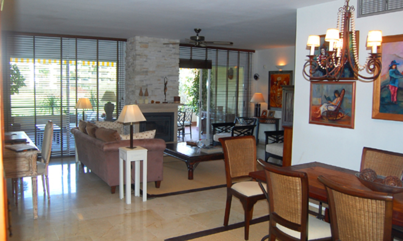 Frontline golf appartement te koop, Marbella - Benahavis 4