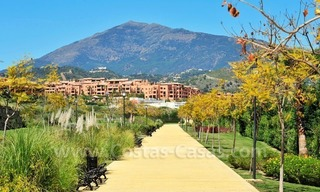 Marbella for sale: luxe front line golf appartementen te koop Marbella Benahavis 25