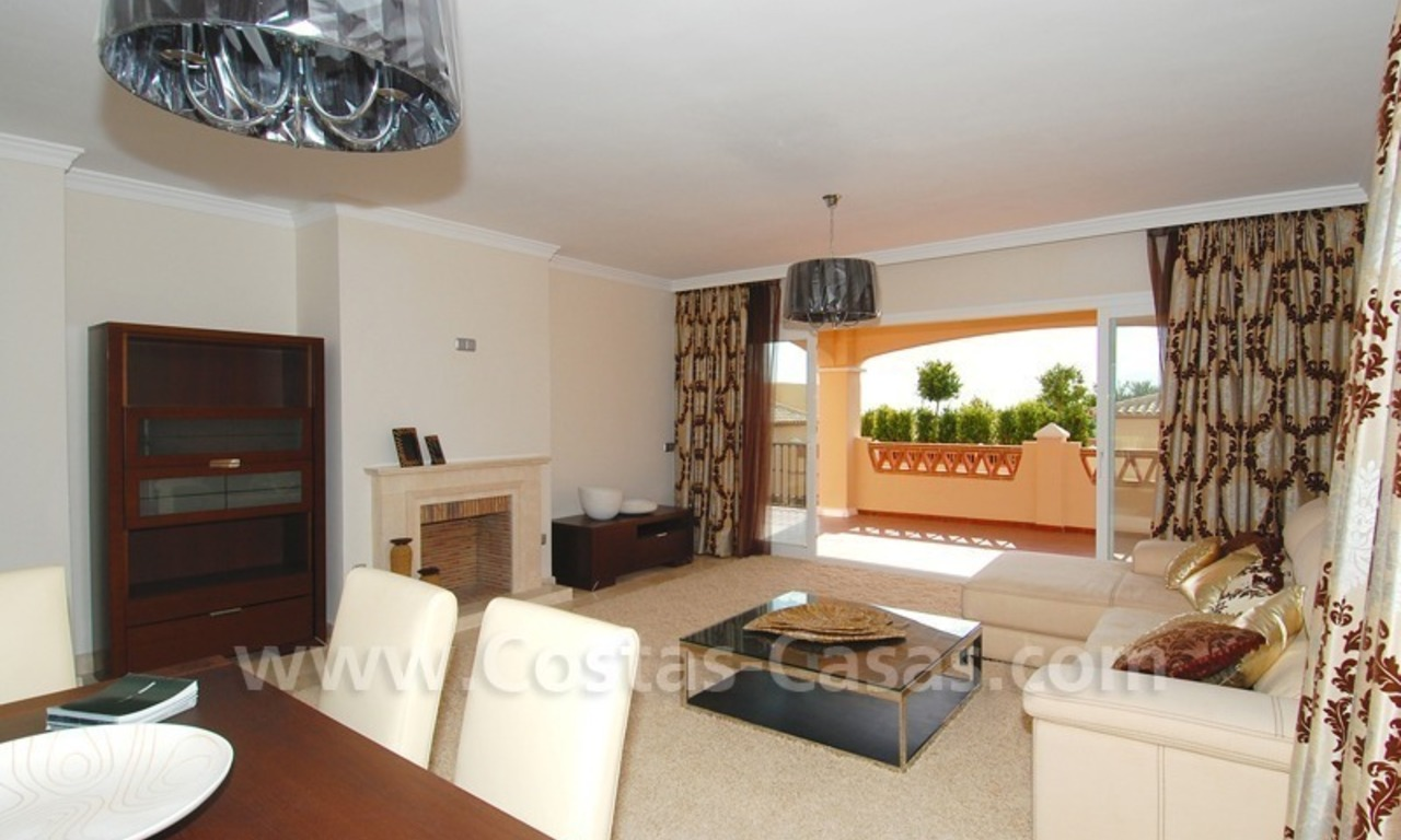 Marbella for sale: luxe front line golf appartementen te koop Marbella Benahavis 22