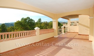 Marbella for sale: luxe front line golf appartementen te koop Marbella Benahavis 14