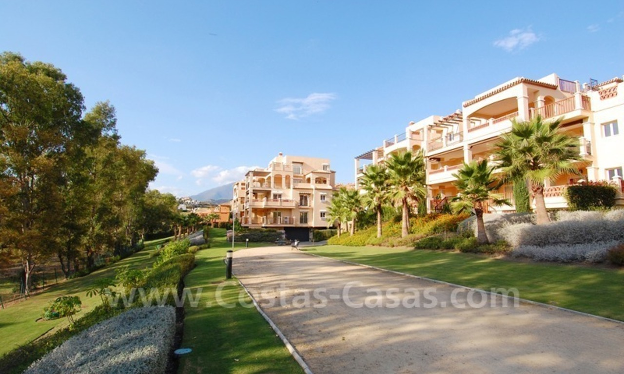 Marbella for sale: luxe front line golf appartementen te koop Marbella Benahavis 1
