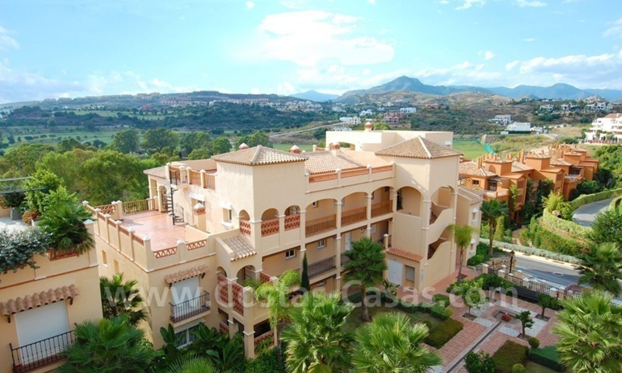 Marbella for sale: luxe front line golf appartementen te koop Marbella Benahavis 7