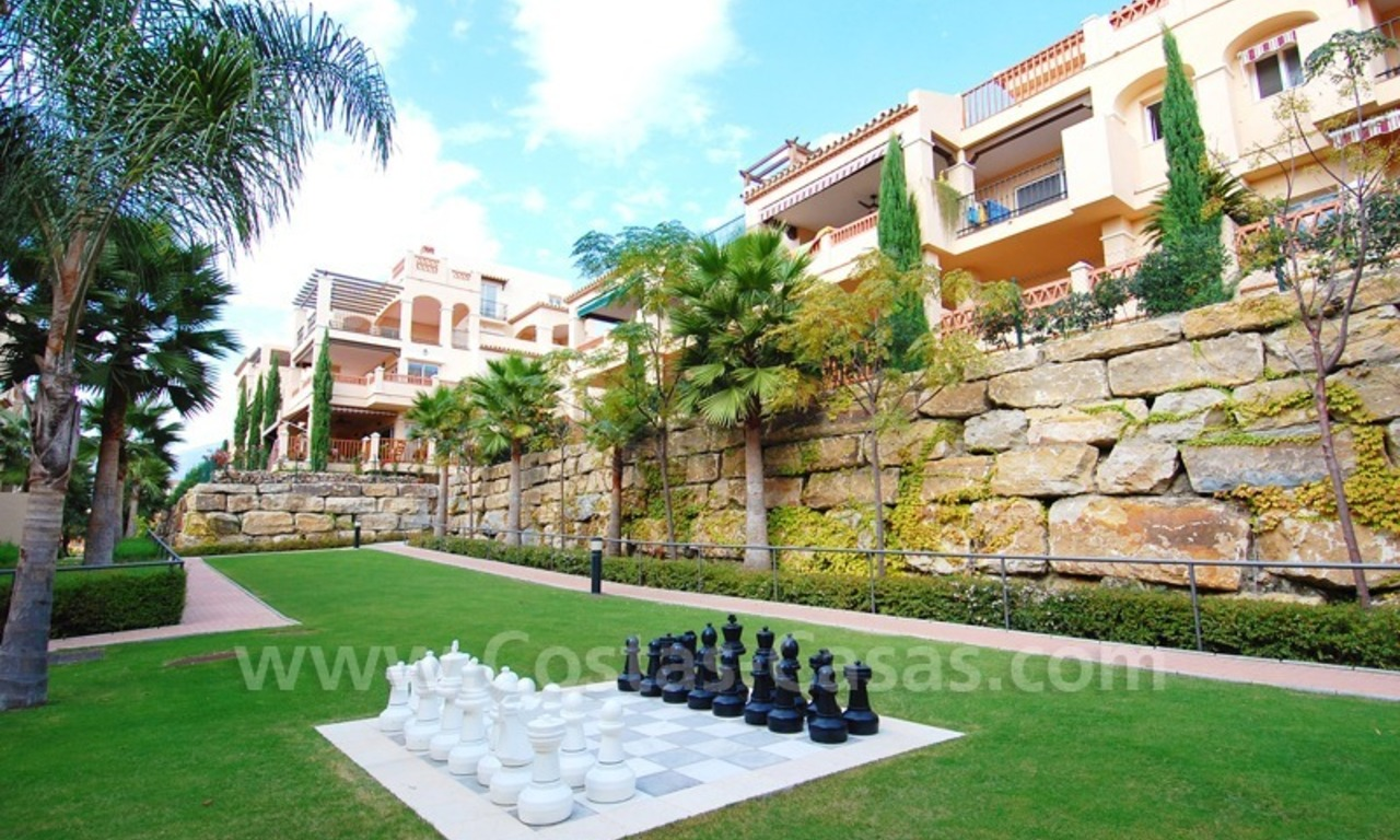 Marbella for sale: luxe front line golf appartementen te koop Marbella Benahavis 9