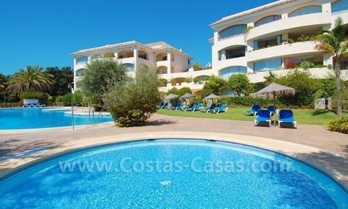 Beachside appartement te koop in Marbella