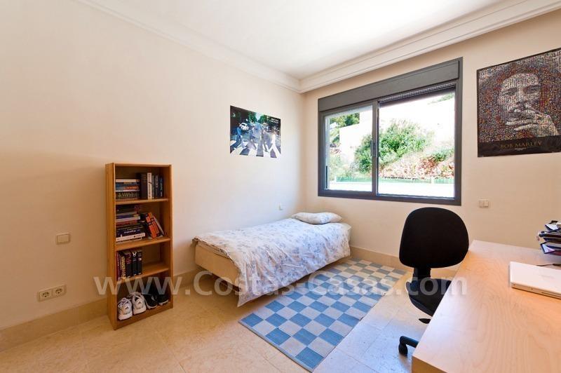 Marbella modern luxe penthouse appartement te koop - Plan slaapkamer kleedkamer ...