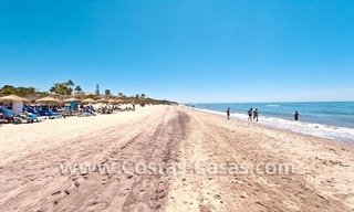 Strand appartement te koop in beachfront complex te Marbella 17