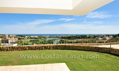 Modern Golf appartement te koop - Marbella - Benahavis