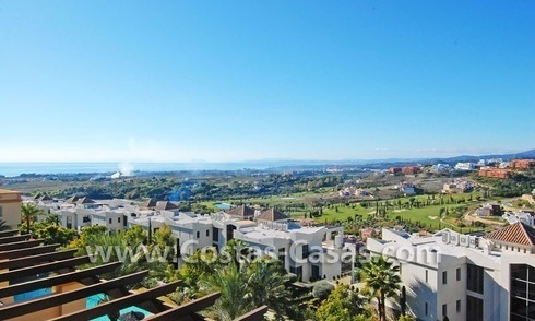 Luxe golf penthouse appartement te koop in een golfresort, Benahavis – Marbella