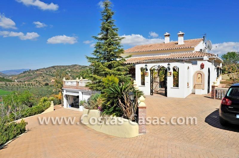 Villa Finca Te Koop In Monda Aan De Costa Del Sol In Andalusie In Zuid Fullscreen
