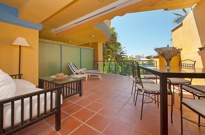 Beachside appartment te koop nabij het strand in Marbella