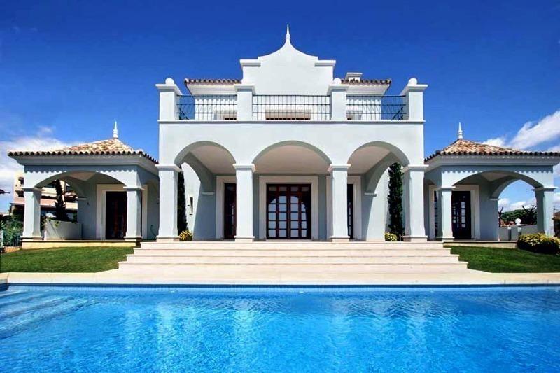 Luxe villa te koop nabij golfbaan marbella Villa de luxe design