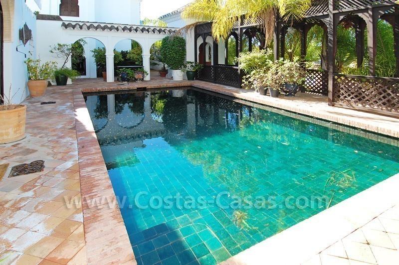 Dubbel huis te koop moors andalusische stijl golden mile for Dubbel woonhuis te koop