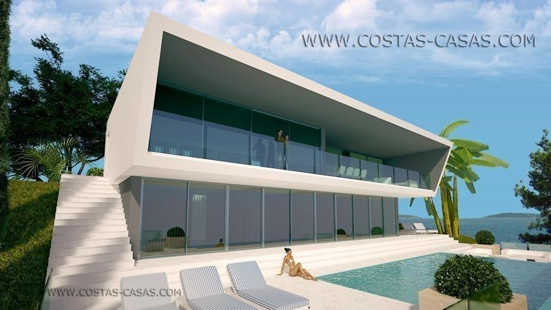 nieuwe moderne villa te koop marbella estepona costa del sol. Black Bedroom Furniture Sets. Home Design Ideas