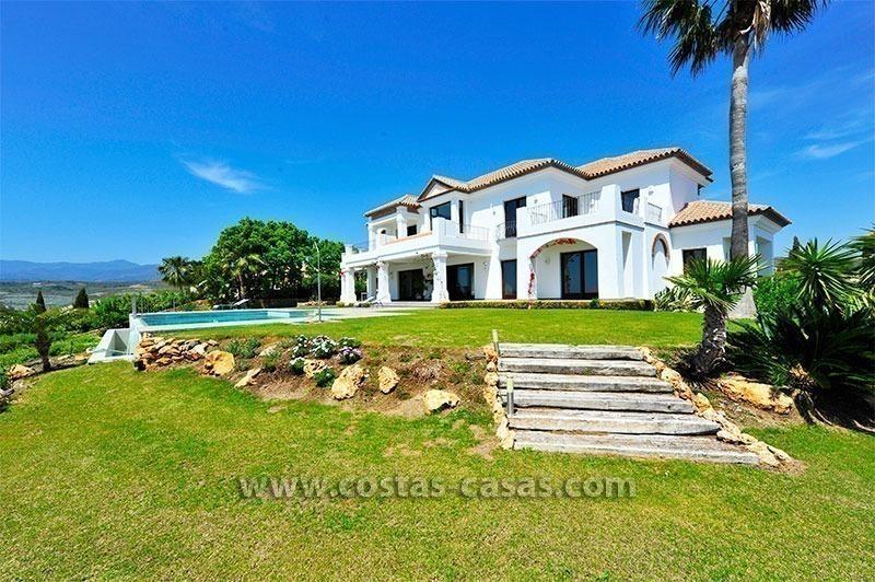 Modern Andalusische Luxe Villa Te Koop Golf Resort