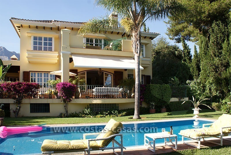 Villa te koop op de Golden Mile in Marbella