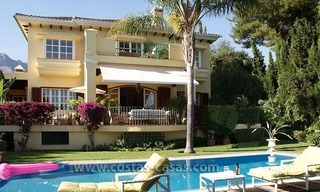 Villa te koop op de Golden Mile in Marbella 0