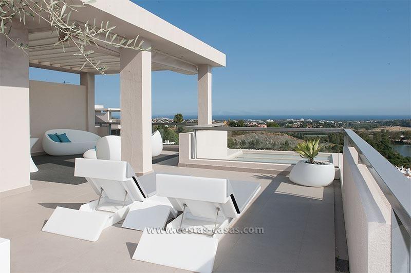 Nieuw luxe penthouse vakantie appartement te huur in for Luxe vakantie appartementen