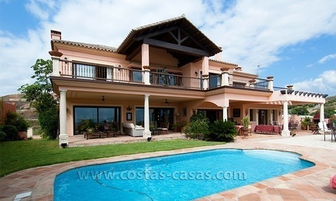 Golf villa te koop in Marbella – Benahavis