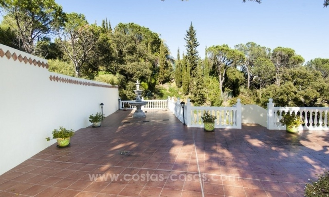 Villa te koop in El Madroñal in Benahavis – Marbella 10