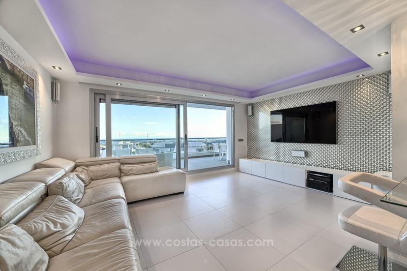 Nieuw modern appartement te koop marbella benahavis - Modern appartement modern appartement ...