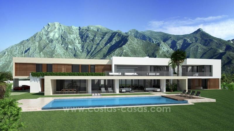 Nieuwe ultra moderne villa te koop golden mile sierra for Villa ultra moderne
