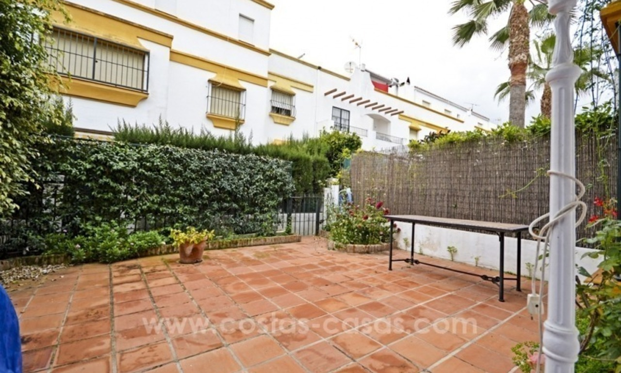 Beachside townhouse te koop op de Golden Mile in Marbella 6